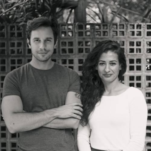 Felipe Guerra e Samira Barakat