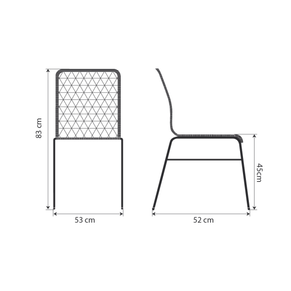 Cadeira Trama Slim