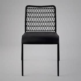 Cadeira Trama Slim Estofada